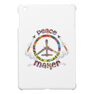 Peace Maker, hippie military drone funny Cover For The iPad Mini