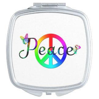 Peace Makeup Mirrors