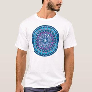 Peace Mandala with Circle Blessing T-Shirt