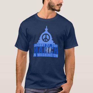 Peace - March on Washington - January 27, 2007 T-Shirt