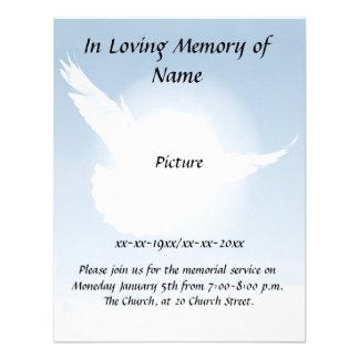 Peace Memorial Custom Announcements