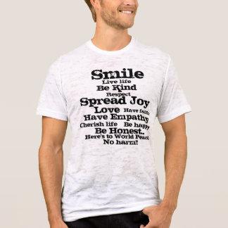 Peace Men's Burnout T-Shirt