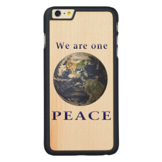 PEACE merchandise Carved Maple iPhone 6 Plus Case