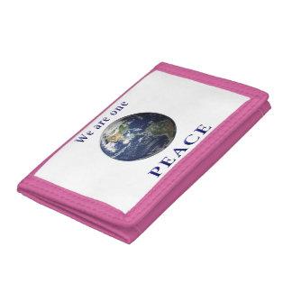 PEACE merchandise Tri-fold Wallets