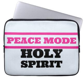 PEACE MODE-sleeve Laptop Sleeve