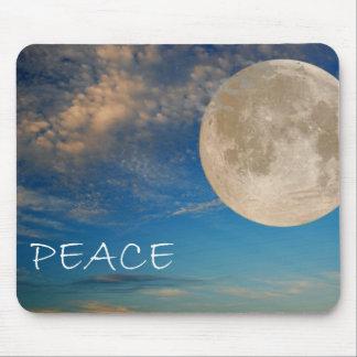Peace Moon Mousepad