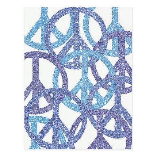 Peace Mulitiplied Postcard