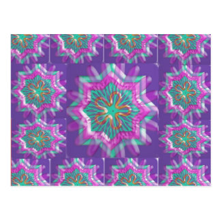Peace n Joy: Holy Purple Star Constellation Postcard