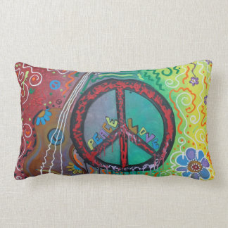 Peace N Love American MoJo Pillow