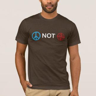 Peace Not Gun Sights T-Shirt