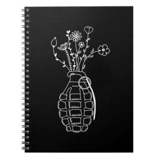 Peace not war notebook
