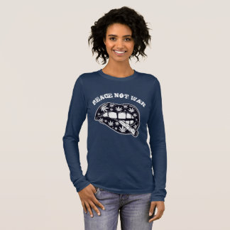 Peace Not War Smoke Long Sleeve T-Shirt
