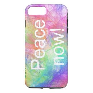 Peace now2! iPhone 7 Plus, Tough Case