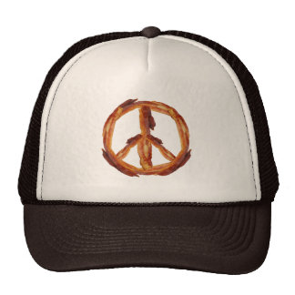 Peace Of Bacon Mesh Hat
