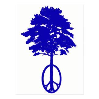 Peace of Blue Postcard