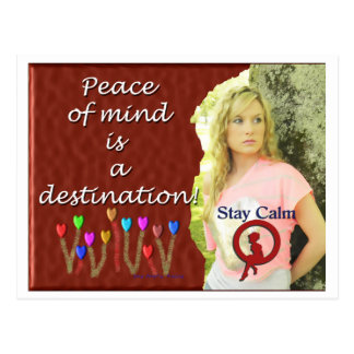 Peace of Mind Destination Postcard