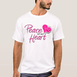 Peace of my Heart T-shirt with back design