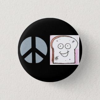 Peace of Toast Button