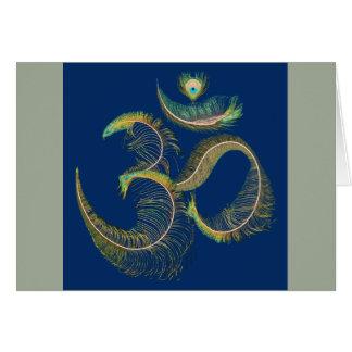 PEACE Om Card