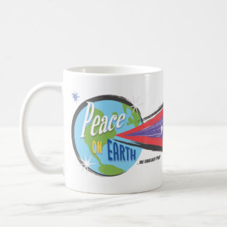 """Peace on Earth ...And Throughout Space"" mug"
