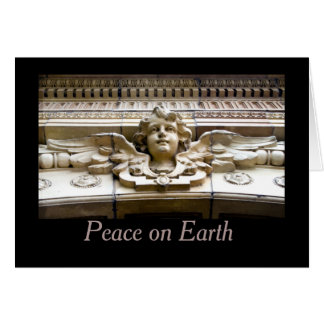 Peace on Earth Angel Holiday Greeting Card