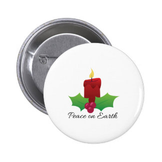 Peace On Earth Pinback Buttons
