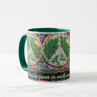Peace on Earth by Amelia Carrie Mug