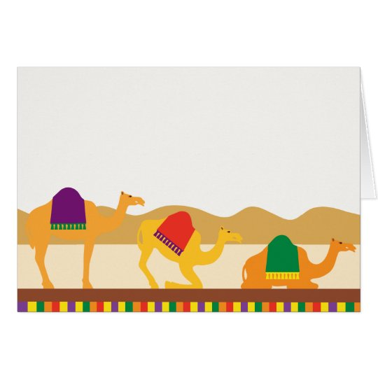 Peace on Earth Camels Card