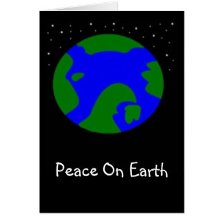 PEACE ON EARTH GREETING CARDS