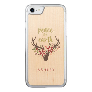 Peace on Earth Carved iPhone 8/7 Case