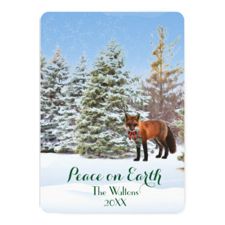Peace on Earth Christmas Card