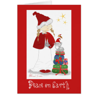 Peace on Earth Christmas Greeting Cards