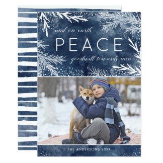 Peace On Earth - Christmas Photo Card