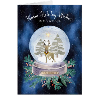 Ovarian Cancer Christmas Cards