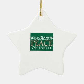 Peace On Earth Christmas Tree Ornament