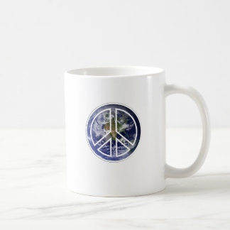 PEACE ON EARTH . COFFEE MUG
