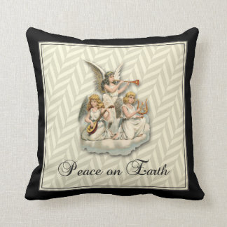 Peace on Earth cotton pillow