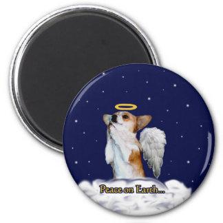 Peace on Earth Dott Angel Magnet