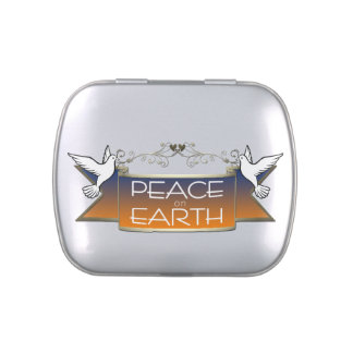 Peace on Earth Doves Silver