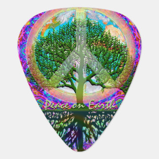 Peace on Earth Guitar Pick