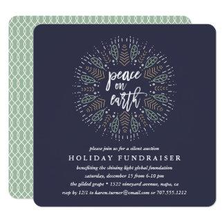 Peace on Earth | Holiday Fundraiser Invitation