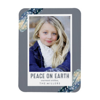 Peace On Earth | Holiday Photo Magnet