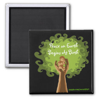 Peace on Earth...midwife Magnet