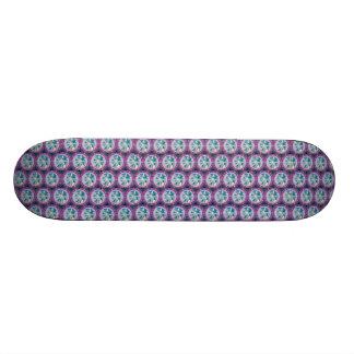 Peace on Earth Pattern Skate Board Deck