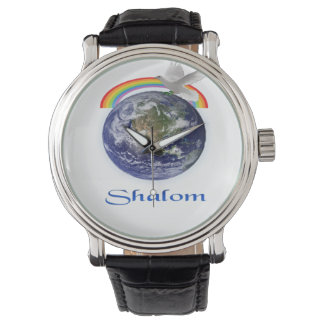 Peace on Earth Shalom products Wristwatches