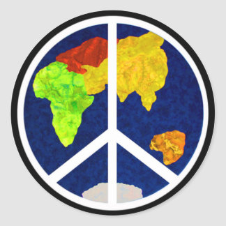 Peace on Earth Stickers
