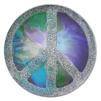 Peace on Earth ~ Written in Stone Plates