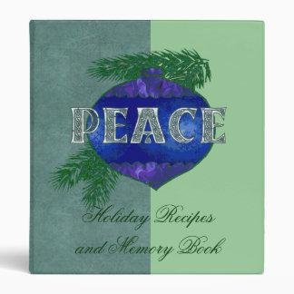 Peace Ornament Binders