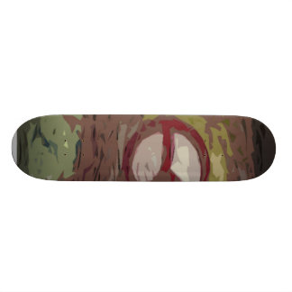 peace out skateboard