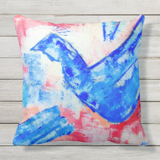 Peace Outdoor Pillow